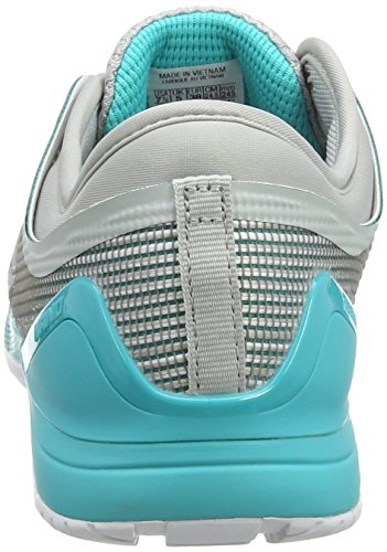 Chaussures de Crossfit Blanc Teal White 0 Femme Fitness 8 Nano Grey 000 Reebok qXTdxII
