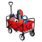 Collapsible Wagon Folding Outdoor Utility Sports Wagon