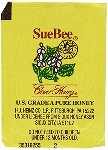 Sue Bee Clover Honey packets - Case of 200 ()