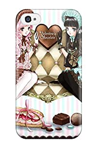 irene karen katherine's Shop original anime valentine heart girl love romance Anime Pop Culture Hard Plastic iPhone 4/4s cases