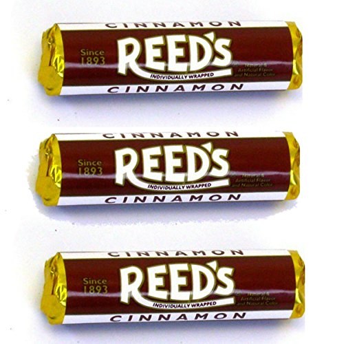 (Reed's Classic Cinnamon Hard Candy 3 Pack - Individually Wrapped - Since 1893)