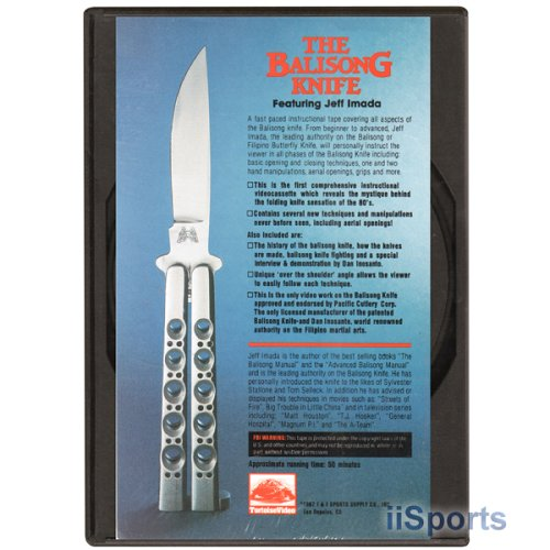 Balisong Butterfly Knife DVD