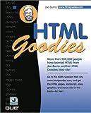 HTML Goodies, Joe Burns, 0789718235