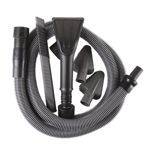 WORKSHOP Wet Dry Vacs WS12552A 1-1/4-Inch Premium Auto Cleaning Kit for Wet Dry Shop Vacuum