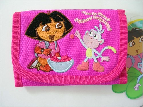 Dora the Explorer & Boots Trifold wallet : Care to Share ? Quieres Compartir ?