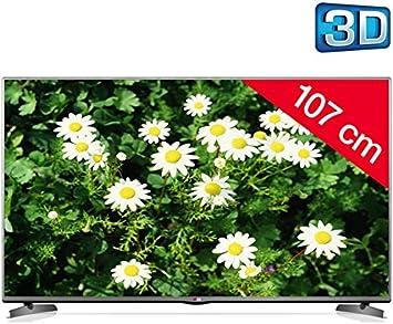 LG 42LB6200 - Televisor LED 3D + Kit soporte de pared fijo + cable HDMI 920003: Amazon.es: Electrónica