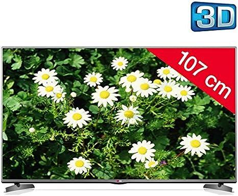 LG 42LB6200 - Televisor LED 3D + Kit soporte de pared fijo + cable ...