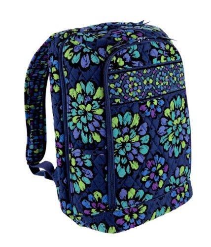 Vera Bradley Laptop Backpack in Indigo Pop