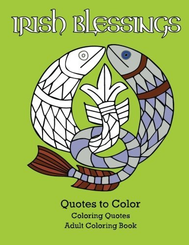 Irish Blessings Quotes Color Coloring
