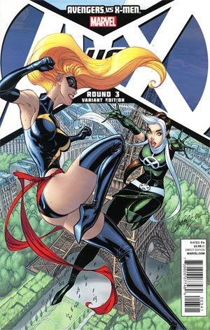 """Avengers Vs X-men #3 """"J Scott Campbell Variant"""""""