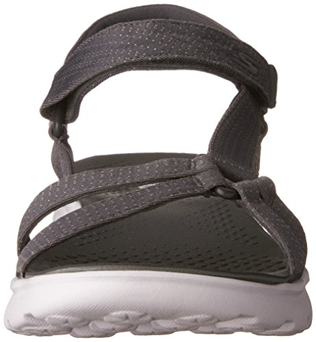 Skechers Performance Mujeres On The Go 400 Radiance Flip Flop Carbón De Leña
