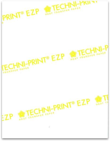 "Laser Soft Light-Laser Yellow Line Heat Transfer Paper 11/""x17/"" 10 Sheets"