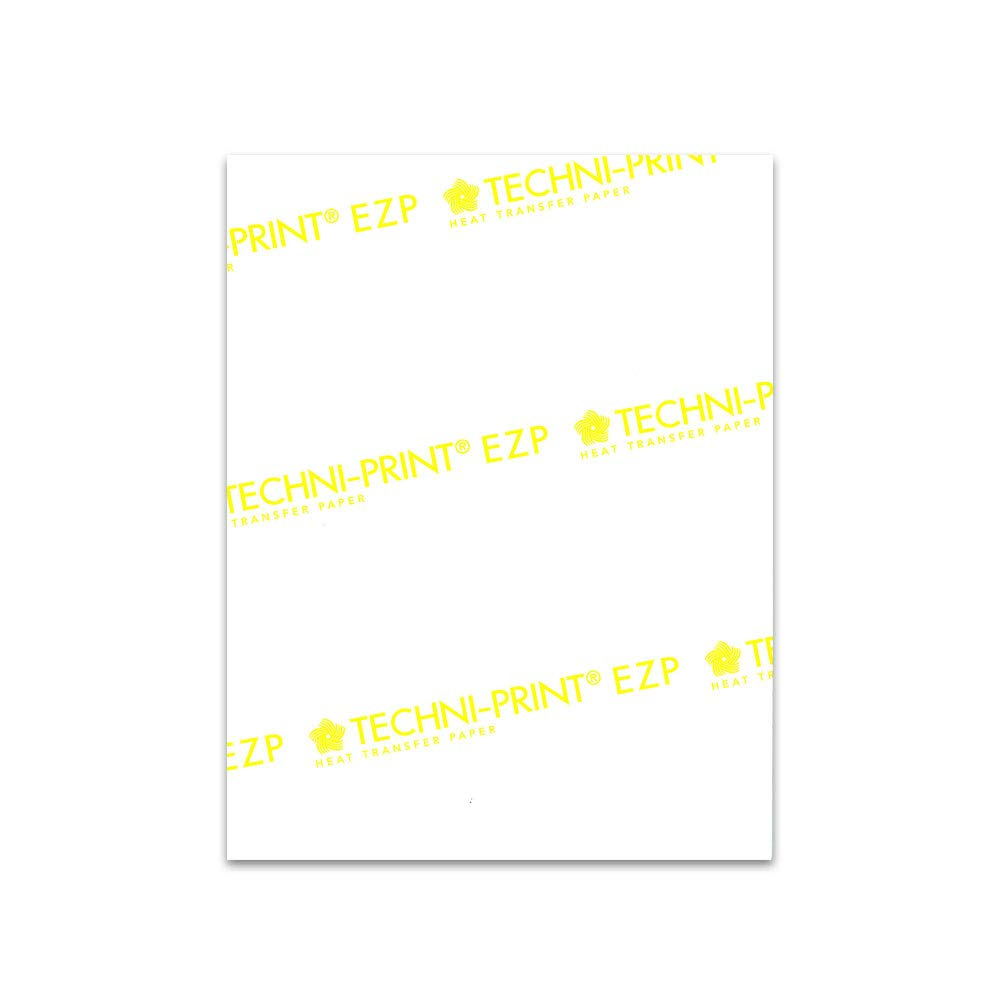 "Amazon.com : Techni-Print EZP Laser Heat Transfer Paper 8.5""x11"" 25 :  Office Products"