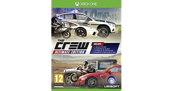 The Crew - Ultimate Edition: Amazon.es: Videojuegos