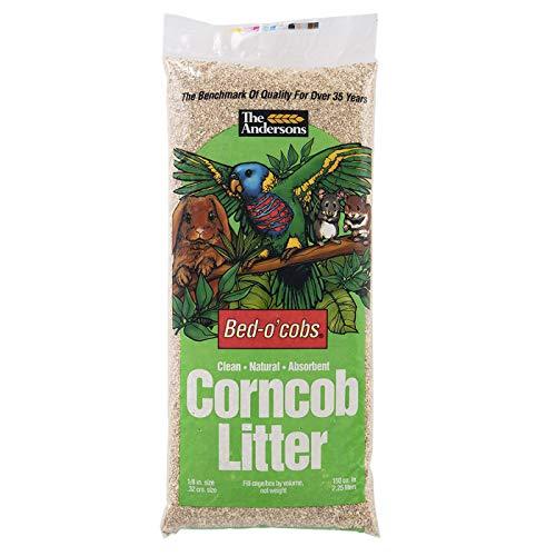 Cob Bedding Corn (The Andersons Bed-o'Cob Corn Cob Small Pet Bedding and Litter (Bed -o'Cobs, 1/8