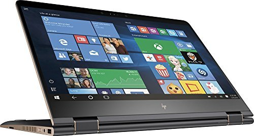 HP Spectre x360 15-BL012DX 2-in-1 15.6″ 4K UHD TouchScreen Laptop – Intel Core i7 – Nvidia GeForce 940MX, 16GB Memory, 512GB Solid State Drive (Certified Refurbished)