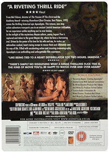 Apocalypto UK Limited Edition Steelbook DVD