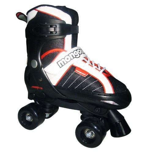 Hockey Skate Outlet - Mongoose Hockey Quad Adjustable Inline Skates