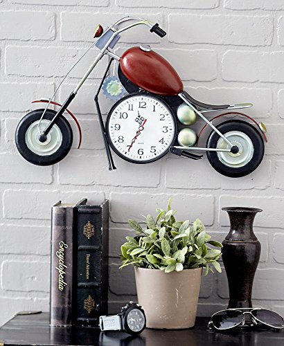 - The Lakeside Collection Motorcycle Clock