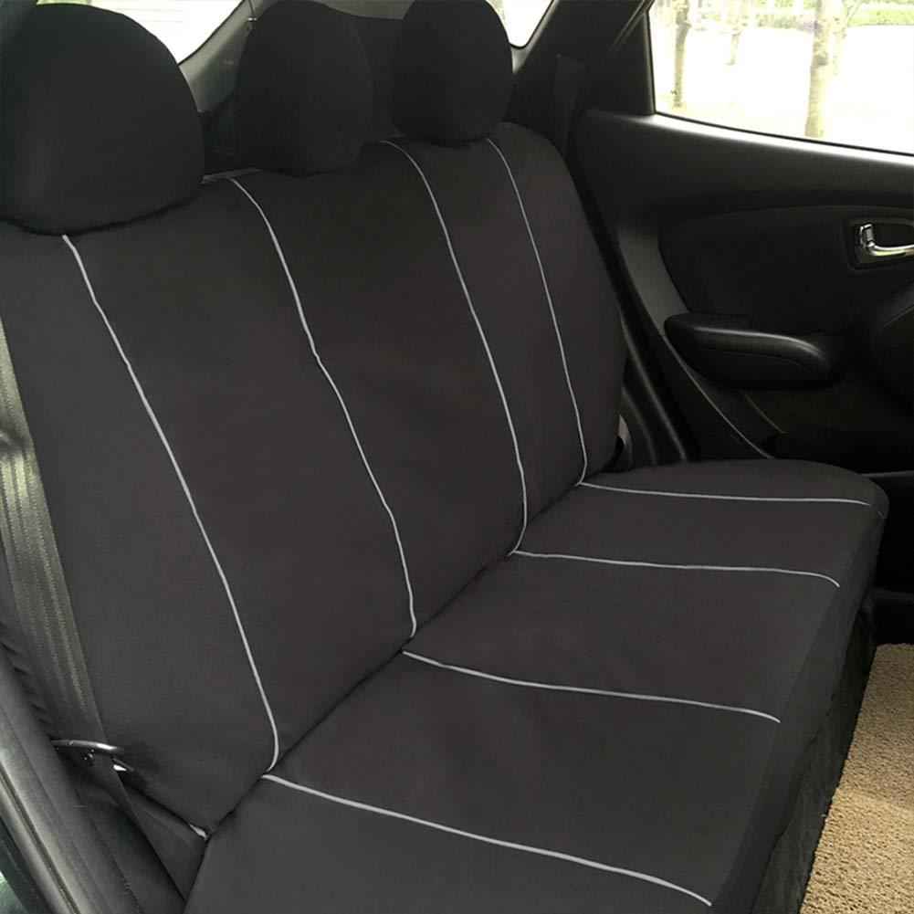 Skoda Octavia Escape Full Car Seat Cover Set in Grey Black