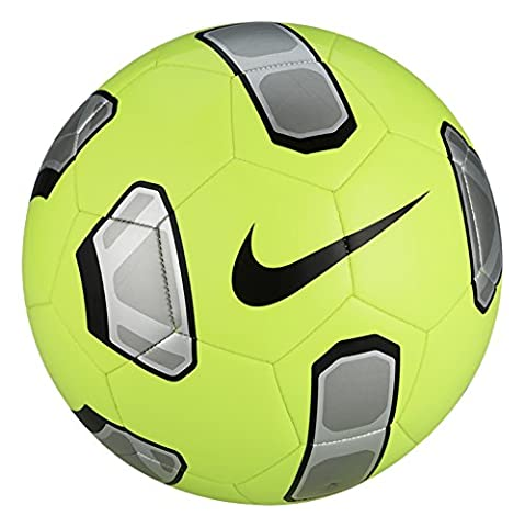 Nike Tracer Training Soccer Ball Volt/Silver/Black Size Size Three Ball