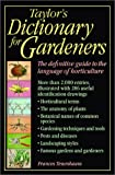 Taylor's Dictionary for Gardeners, Frances Tenenbaum, 0395876060