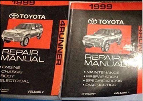 1999 4runner service manual - 2