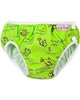 Imse Vimse Swim Diapers - Medium - Green Fish