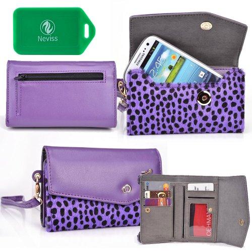 Animal Printed Cellphone Wallet Case Fits Allview A6 Duo P5 Pro P8 Energy Mini  V2 Viper  V2 Viper I