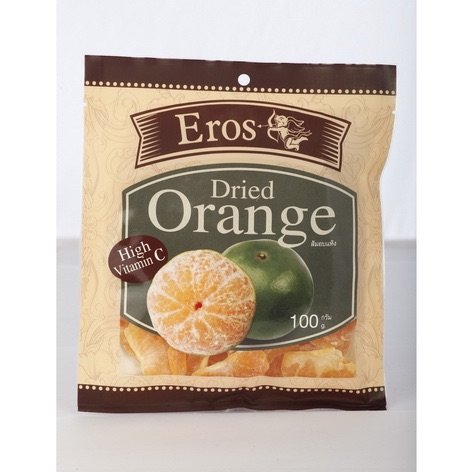 Price comparison product image Eros Soft and Juicy Mandarins,orange Dried,100g (Pack of 3)