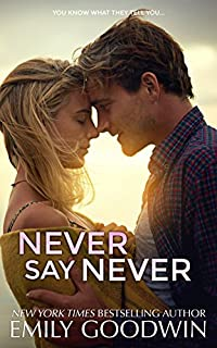 Never Say Never by Emily Goodwin ebook deal