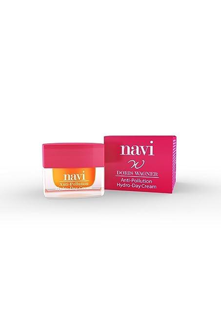 NAVI Crema Hidratante Facial Día con Aloe Vera & Aceite de Jojoba / Antiarrugas / Travel