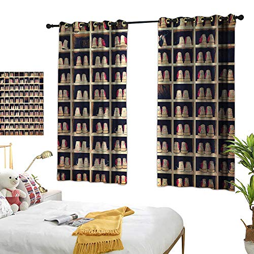 - Lightly lace Curtains Bowling Party,Shoes in Racks 84
