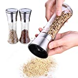 3 Piece Spice Jars Seasoning Box Kitchen Condiment Storage Container Transparent Plastic Salt Organizer for Storing and Dispensing Your Dried Herbs and Spices.