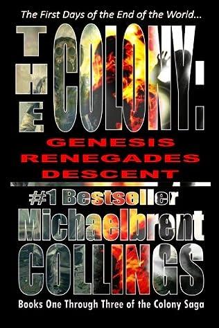 book cover of The Colony Omnibus books 1- 3