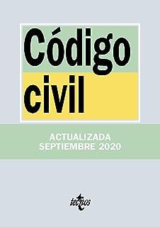 Código Civil (Derecho - Biblioteca De Textos Legales): Amazon.es: Editorial Tecnos: Libros