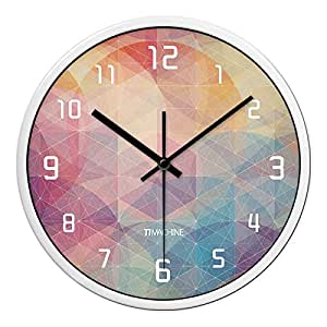 Zhi Wall Clock Silent Non Ticking The Living Room Bedroom Mute Clock Wall Chart