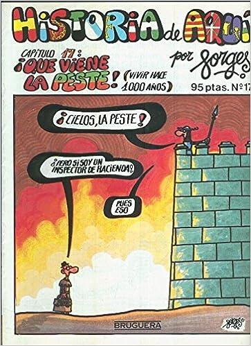 Historia de Aqui numero 17: que viene la peste: Amazon.es: Forges ...