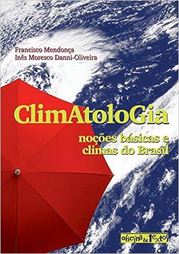 Book Climatologia: Nocoes Basicas e Climas do Brasil