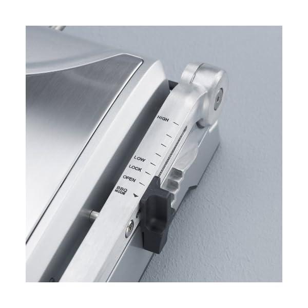 Severin KG 2392 Bistecchiera elettrica, 1800 W, 2 piastre rimovibili e antiaderenti per diversi tipi di cottura, Acciaio… 2