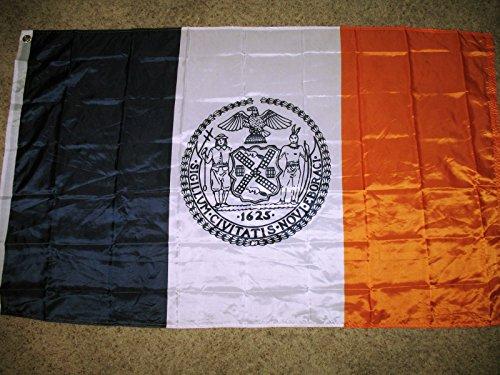 New York City Flag 3x5 NY NYC Banner