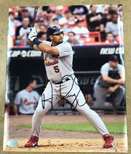 Albert Pujols Autograph Autographed Signed 8x10 Photo Mounted Memories Cardinals Auto - Certified Signature
