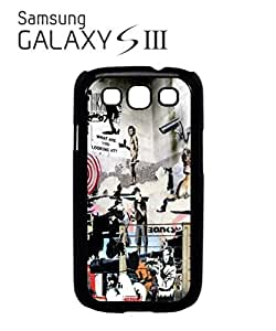 Lmf DIY phone caseBanksy Street Art Graffiti Mobile Cell Phone Case Samsung Galaxy S3 BlackLmf DIY phone case