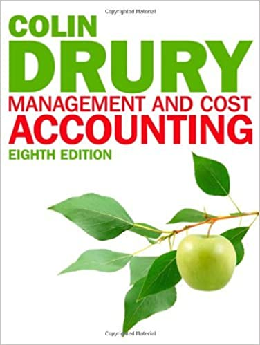 Colin Drury Management And Cost Accounting 7th Edition Pdf