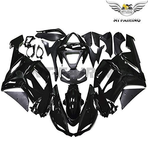 New Glossy Black Fairing Fit for Kawasaki Ninja 2007 2008 ZX6R 636 ZX-6R Injection Mold ABS Plastics Aftermarket Bodywork Bodyframe 07 08