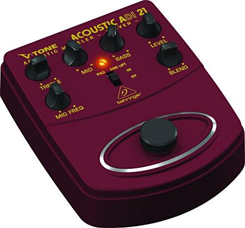 Behringer V-Tone Acoustic Driver DI ADI21 Amp Modeler /Direct Recording Preamp /DI Box