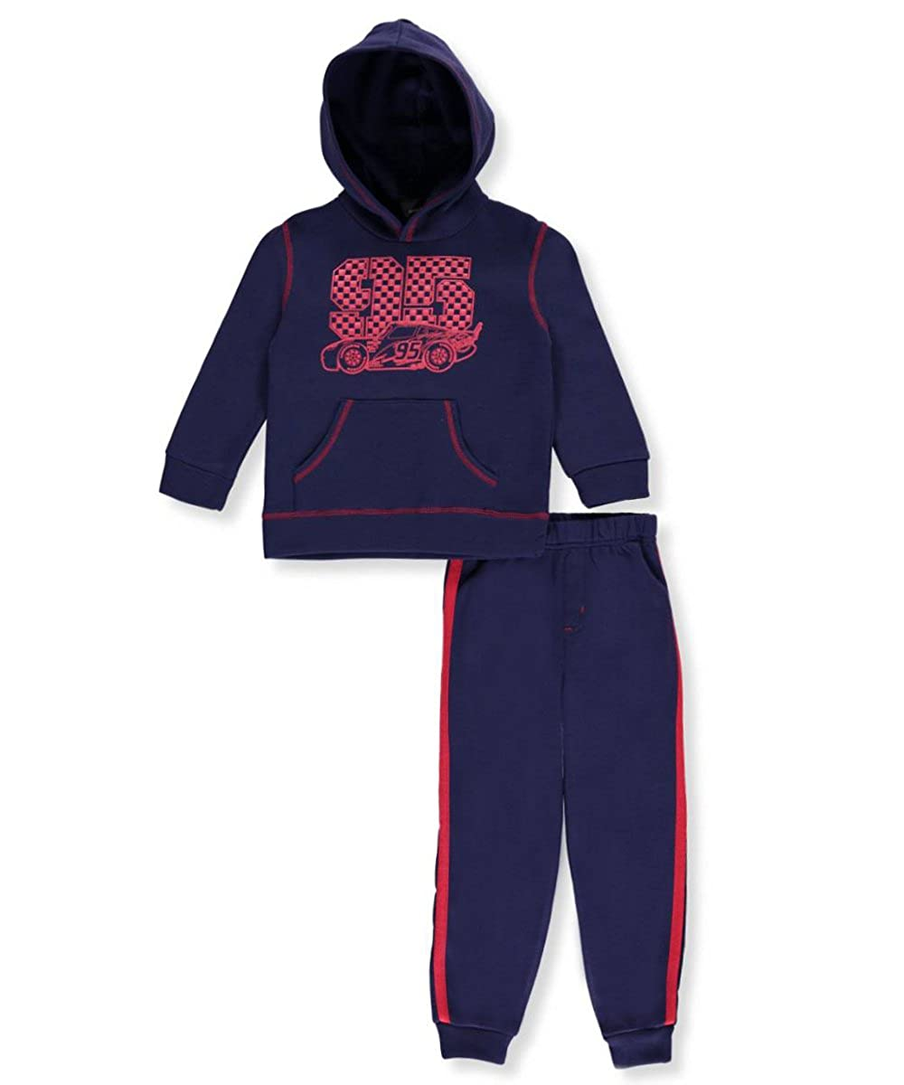 Disney Cars Little Boys' Toddler 2-Piece Sweatsuit 4t