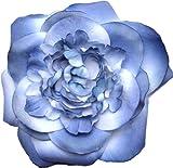 Giovannio Womens Blue Silk Rose Hat Pin Accessorie