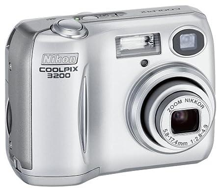 Nikon COOLPIX 3200 3.2MP Digital Camera - Silver | eBay