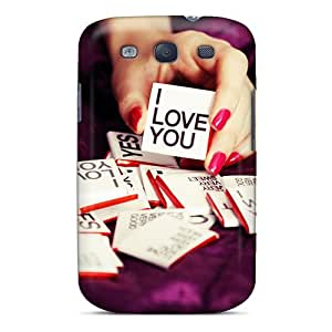 High-end Case Cover Protector For Galaxy S3(i Love You)